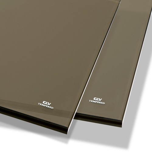 Bronze Tempered Glass